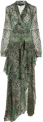 PatBO leopard print dress