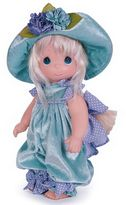Precious Moments Pansy Pooh Doll with Blonde Hair