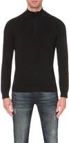 HUGO BOSS Textured wool-blend jumper