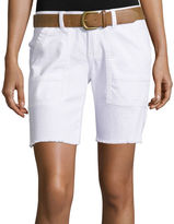 UNIONBAY Union Bay Belted Cargo Bermuda Shorts