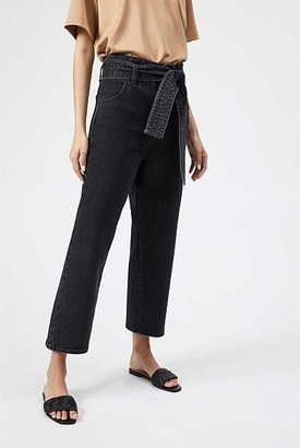 Witchery Tie Front Slouch Jean