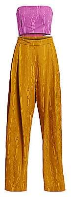 Rachel Comey Women's Assert Colorblock Cutout Jumpsuit