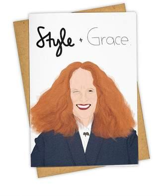 'Style + Grace' Card