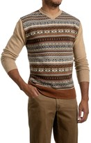 Specially made Textured V-Neck Sweater (For Men)