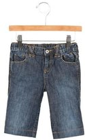 Dolce & Gabbana Boys' Logo-Embellished Medium Wash Jeans