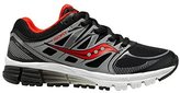 Saucony Kids Boys' Zealot (Youth) Black/red/silver sneakers-and-athletic-shoes 6.5 (Youth) M