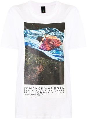 Romance Was Born photograph print T-shirt