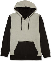 JEM Men's Colorblocked Zip-Front Hoodie with Pockets
