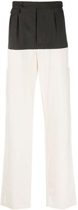 Raf Simons Colour-Block Trousers