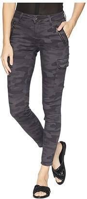 Mavi Jeans Juliette Skinny Cargo in Smoke Camo (Smoke Camo) Women's Casual Pants