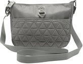 M&Co Quilted cross body bag