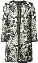 Caban Romantic - 'Indian Tree' jacket - women - Leather/Polyamide - 38
