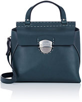 Ghurka Women's Kingston Small Satchel-BLUE