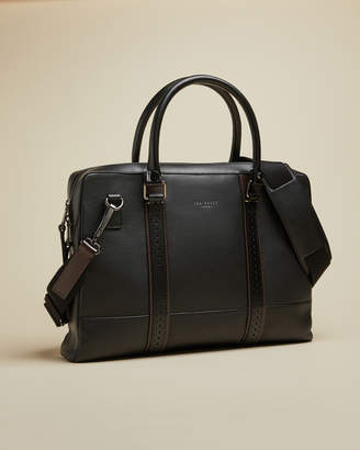 Ted Baker CATCH Leather document bag