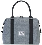 Herschel Strand Duffle Raven Crosshatch Black-Grey