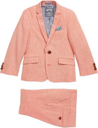 Appaman Herringbone Stripe Mod Suit