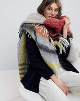 Paul Smith PS PS by Checked Blanket Scarf