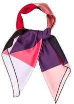 Elie Saab Multicolor Colorblock Scarf