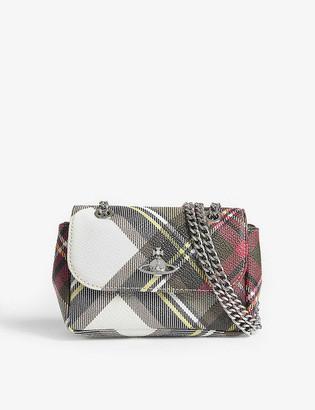Vivienne Westwood New Exhibition tartan purse on chain