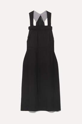Rag & Bone Adrian Twill Midi Dress - Black