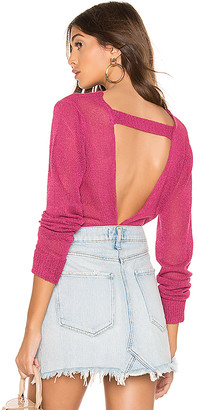 superdown Spencer Open Back Sweater