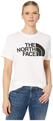The North Face Half Dome Cotton Short Sleeve Tee (Jaiden Green) Women's Clothing