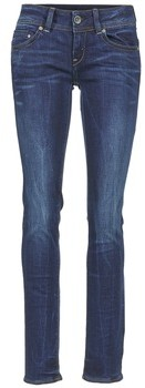 G Star Raw MIDGE SADDLE MID STRAIGHT women's Jeans in Blue
