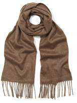 Johnstons Of Elgin Solid Cashmere Scarf