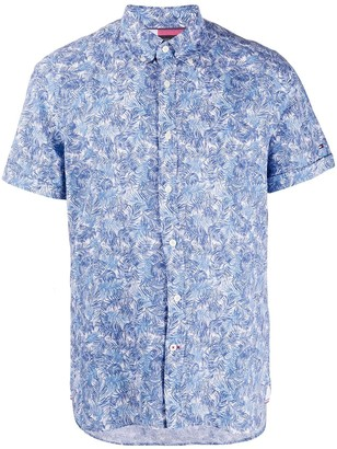 Tommy Hilfiger Leaf Print Shirt