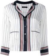 Equipment x Kate Moss striped shirt