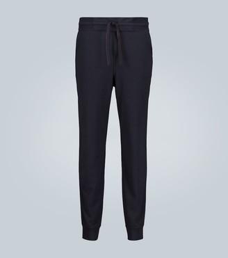 Loro Piana Portland silk-cashmere trackpants