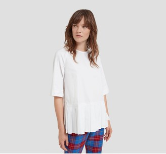 Mulberry Thalia Blouse White Poplin