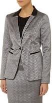 Dorothy Perkins Silver jacquard jacket