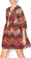 Umgee USA Mixed Tassel Dress