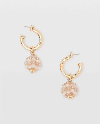 Club Monaco Bead Charm Earrings