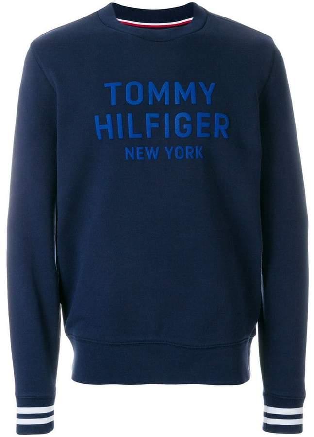 Tommy Hilfiger (トミー ヒルフィガー) - Tommy Hilfiger ロゴプリント スウェットシャツ
