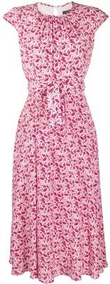 Max Mara Floral Printed Dress