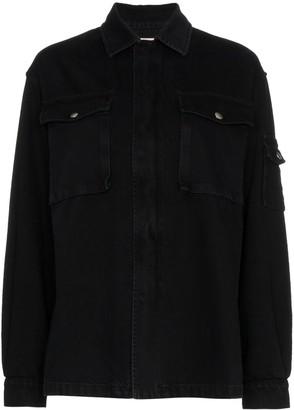Valentino VLTN printed denim jacket