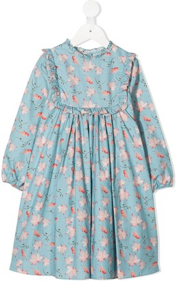 Marie Chantal Francesca printed dress
