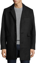 Original Penguin Wool-Blend Button-Front Jacket, Gray