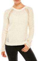 Elie Tahari Brylie Open-Weave Sweater