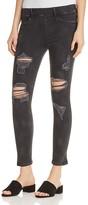 True Religion Runway Legging Crop Jeans in Black