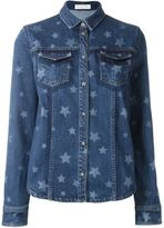 Valentino faded star denim shirt