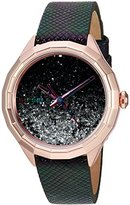 Diesel Women's DZ5536 Kween B Rose Gold Multi-Color Leather Watch