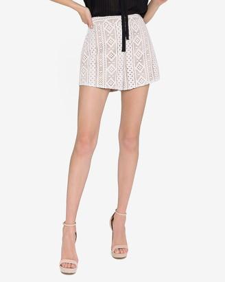 Express Endless Rose Lace Shorts