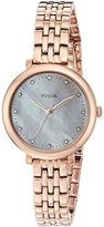 Fossil Women's Quartz Stainless Steel Automatic Watch, Color:Rose Gold-Toned (Model: ES4031)