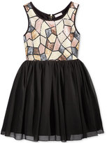 Nanette Lepore Sequin-Bodice Special Occasion Dress, Big Girls (7-16)