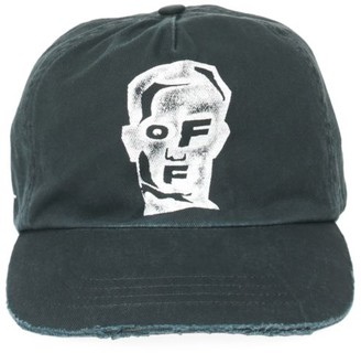 Off-White Masked Face Baseball Cap