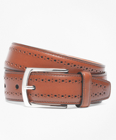 Brooks Brothers Allen Edmonds Perforated Belt