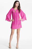 Alice & Trixie 'Jillian' Bell Sleeve Silk Tunic Dress